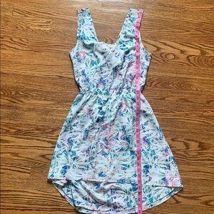 Summery open back dress